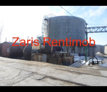 Depozit produse petroliere, zona exterior est